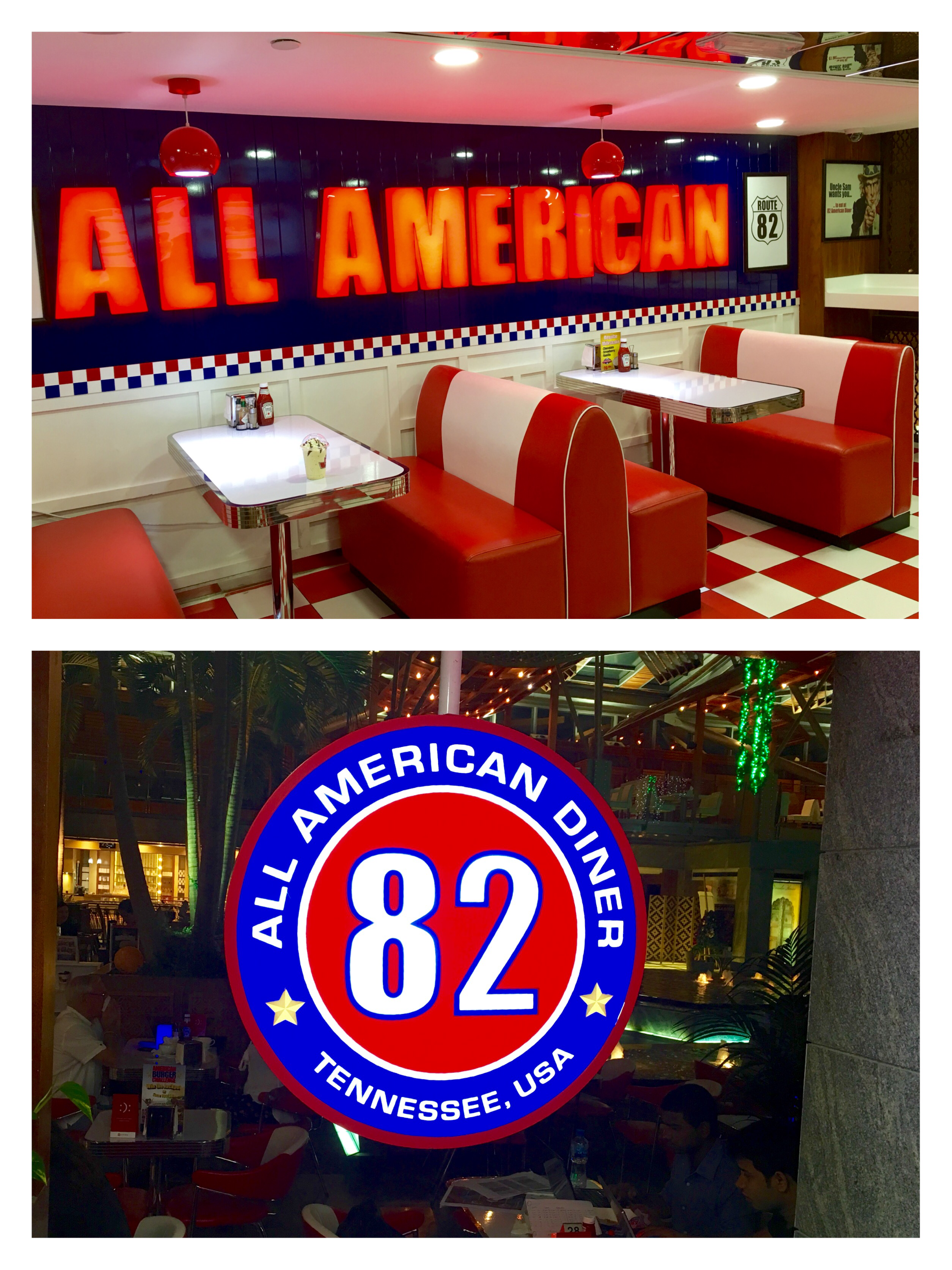 82 American Diner- Authentic American Dining experience