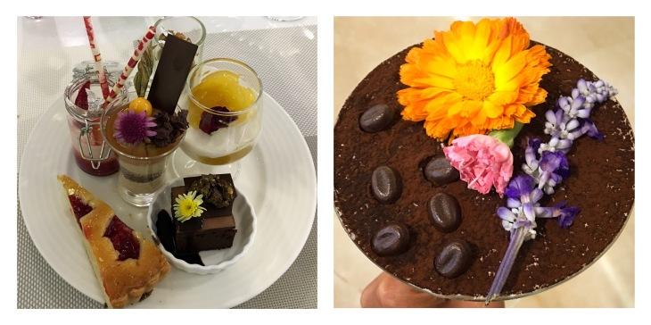 Tiramisu,Chocolate cake