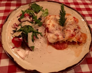 Vegetarian Pasta, Gratinated pasta roulade