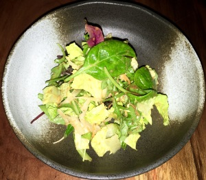 Garden Salad,Soy Vinaigrette dressing