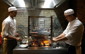 Robata Grill, Chefs in action