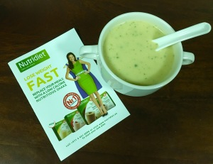 Nutridiet Vegetable flavored soup