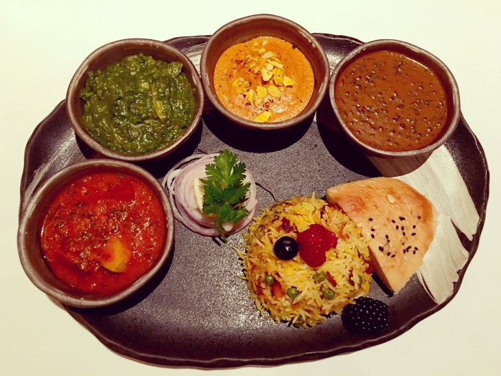 Vegetarian Thali,Indian Thali
