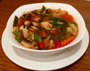 Tom Yum Soup,Lemongrass