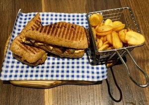 Greek style sandwich