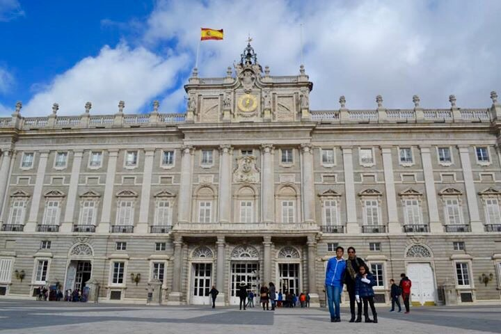 The Royal Palace,Madrid Trip