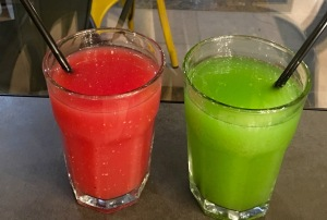 Lemon Mint juice,Watermelon juice