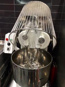 Waffle dough mixer