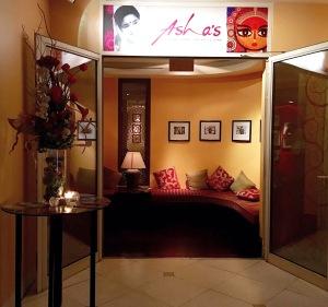 Asha's, Indian food