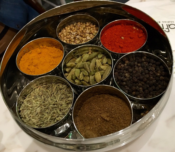 spice box,Indian spices