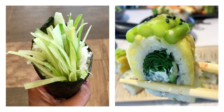 Cucumber Temaki