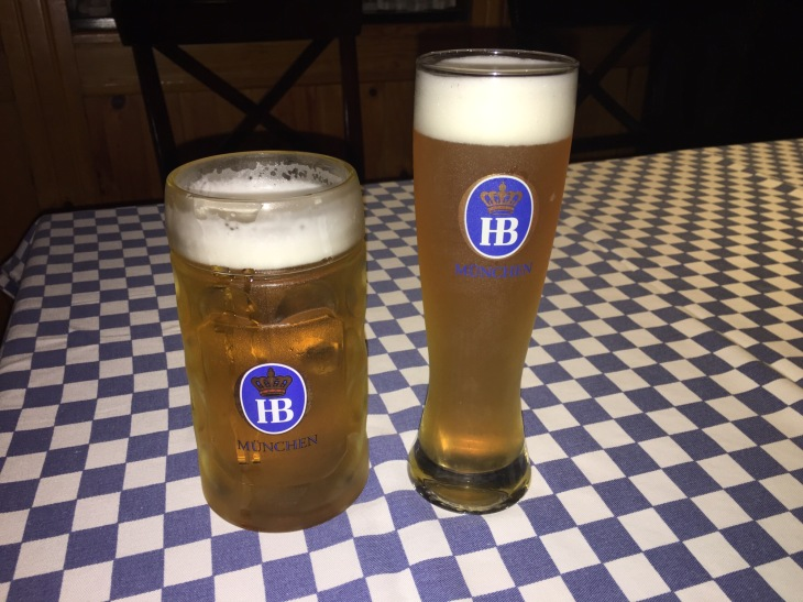 Wheat beer, draught beer