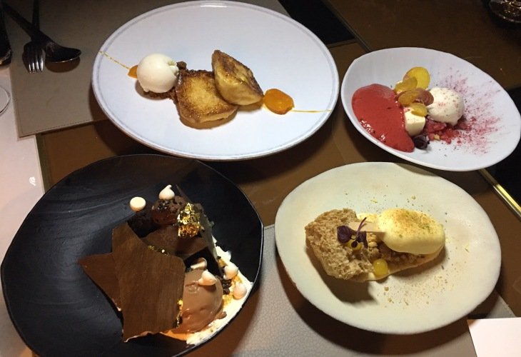 Desserts, sweets