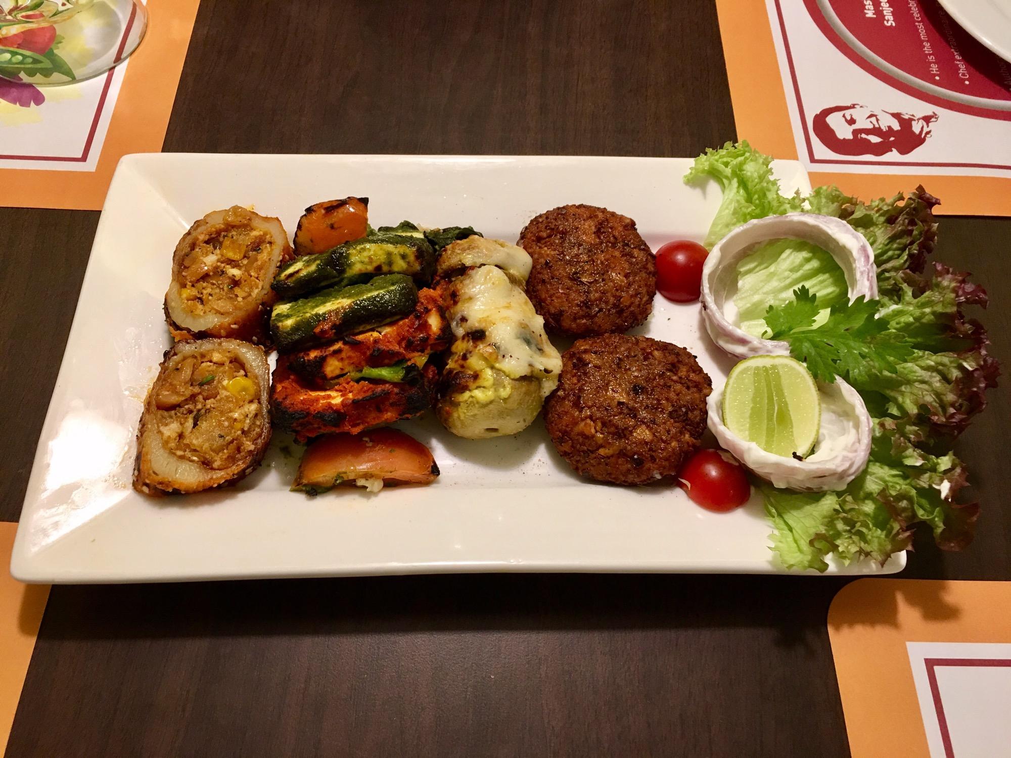 Grilled vegetables recipe by sanjeev kapoor best vegetable 2017 healthy food recipes by master chef sanjeev kapoor forumfinder Gallery