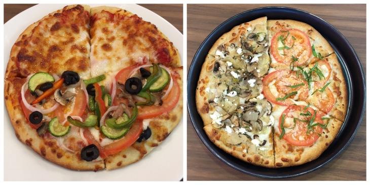 Organic wheat pizza