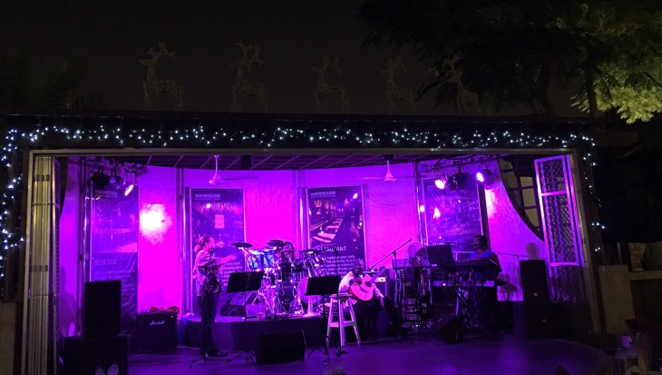 Live music in Dubai