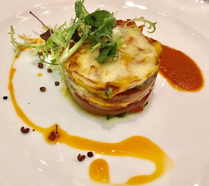 Vegetable Mille Feuille