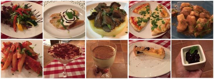 Italian food in Bur Dubai
