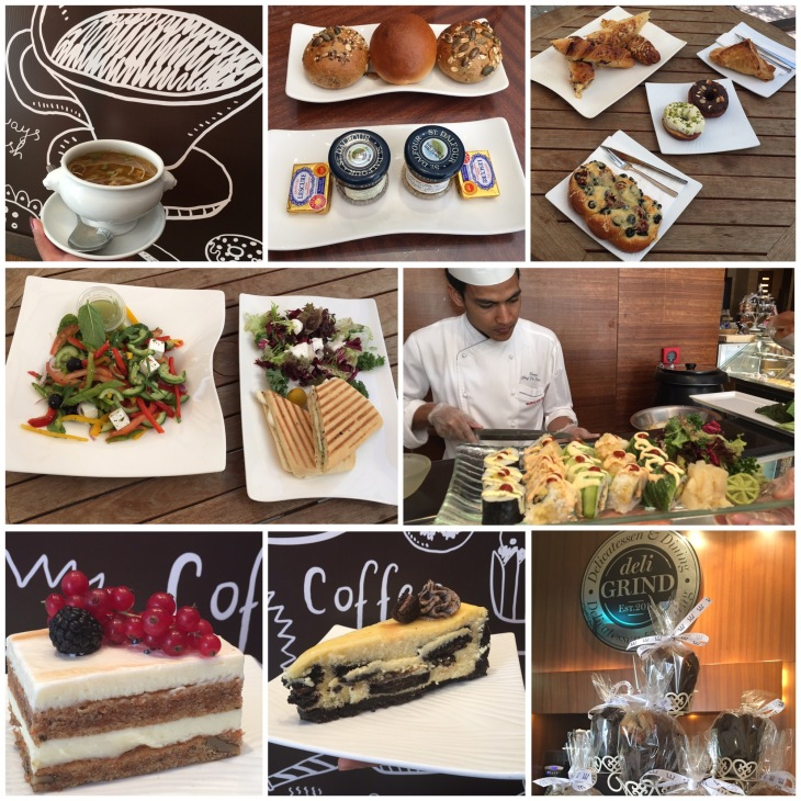 Deli Grind Cafe in Warwick Hotel, Dubai