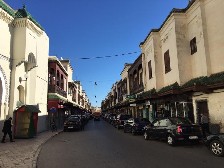 Jewish quarters in Fez