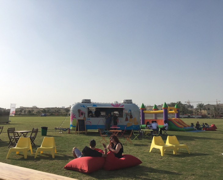 Food trucks in Dubai