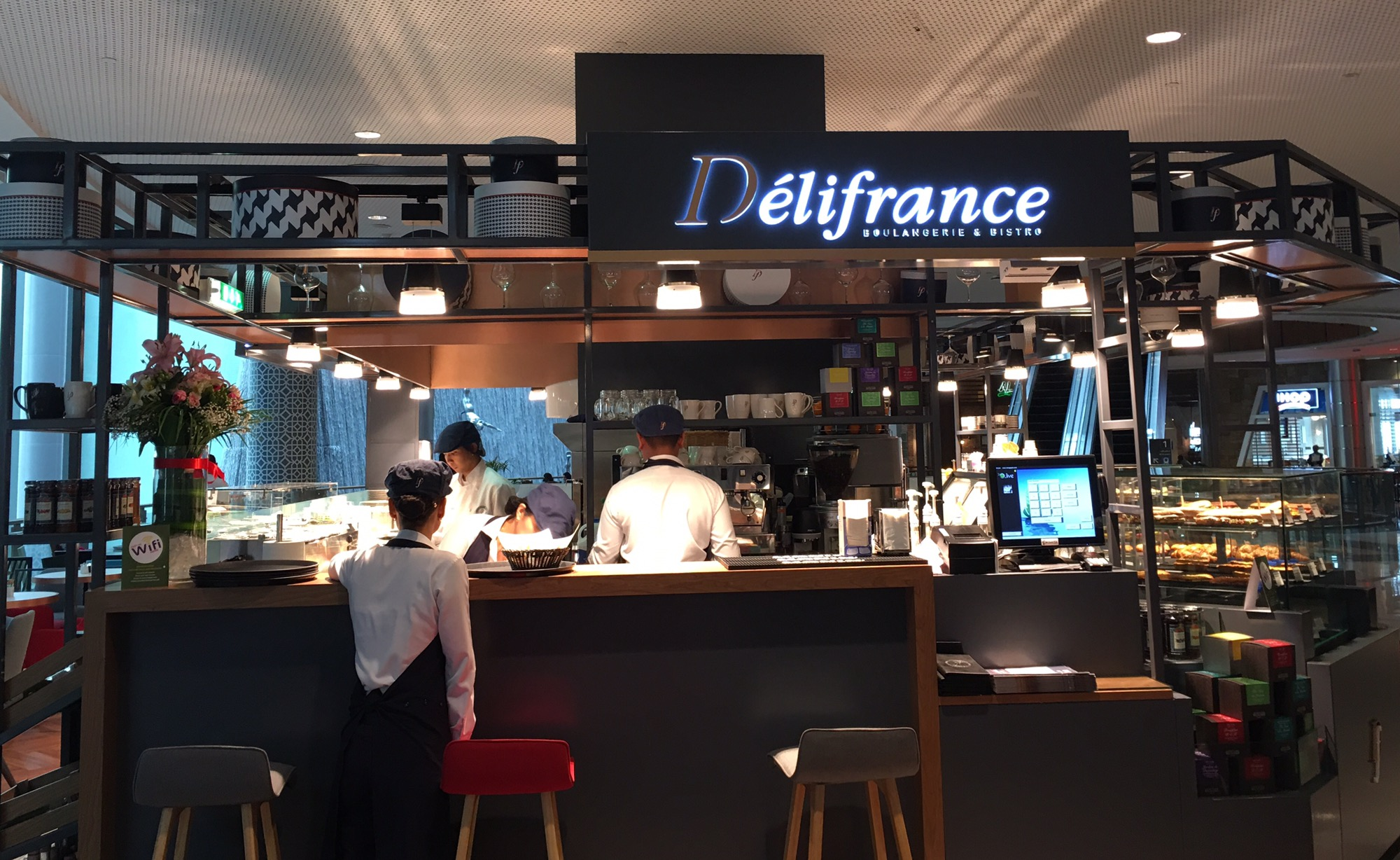 délifrance-now open in dubai mall – megsblogged