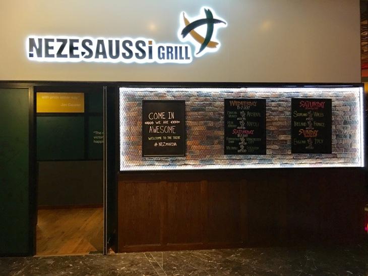 Sports bar in Dubai Marina