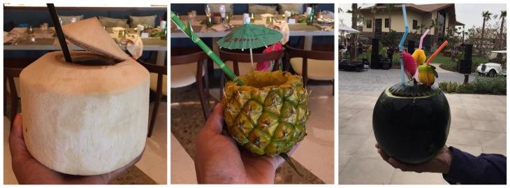 Polynésien cocktails