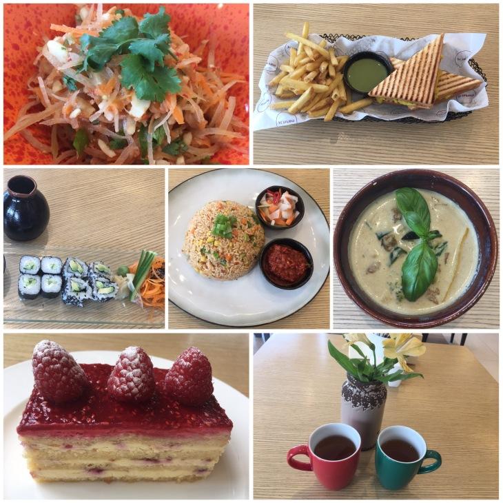 Asian comfort food