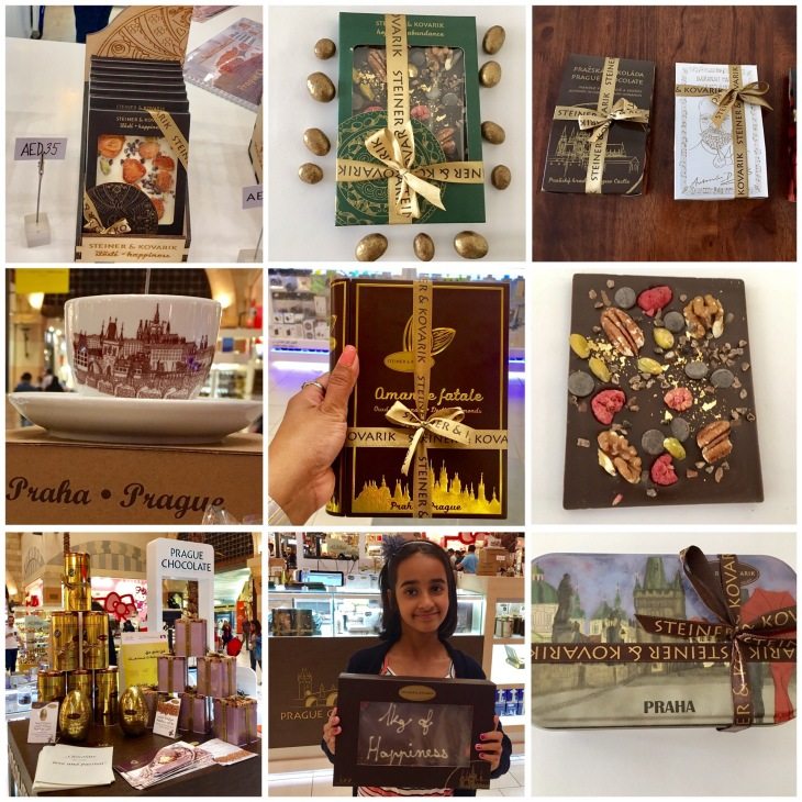 Handmade chocolates from Prague