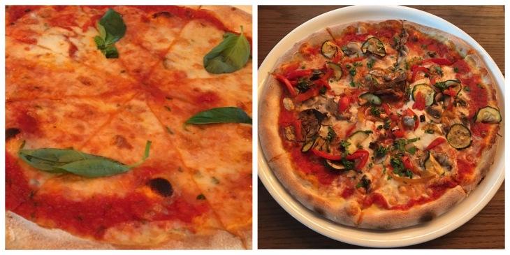 Bufalina pizza in Dubai