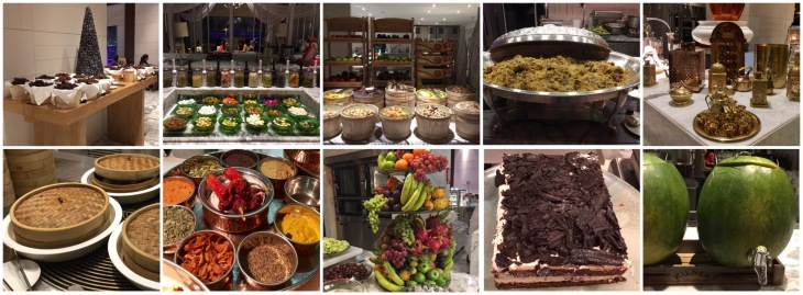 Incredible Iftar buffet spread