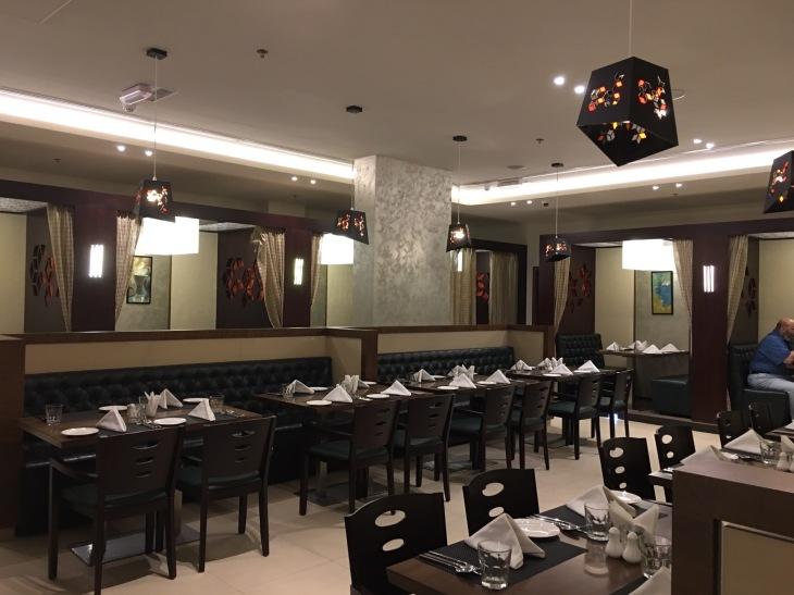 Restaurant with private dining space