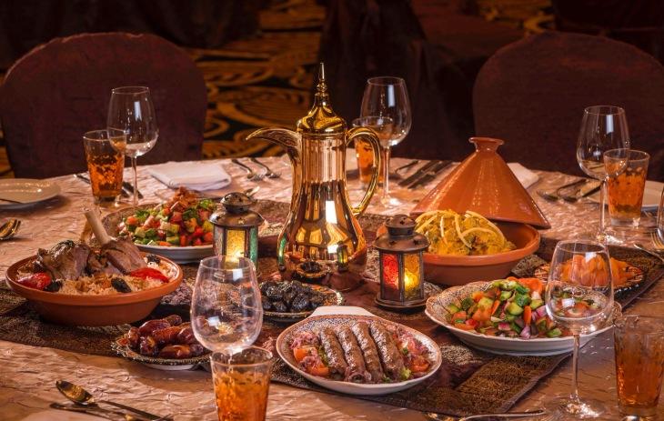 Iftar in Dubai