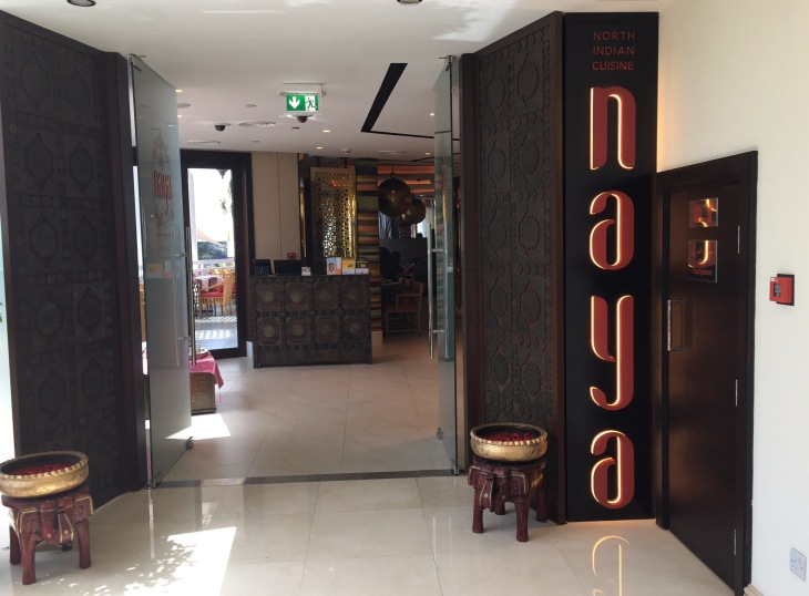 Naya Indian Restaurant Dubai