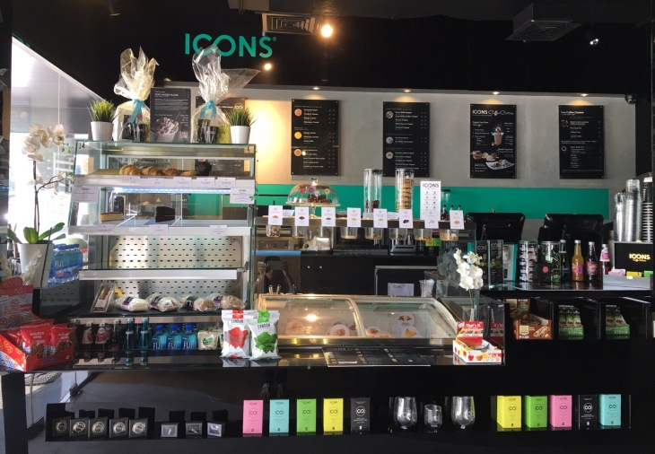 Icons Coffee Couture in Dubai