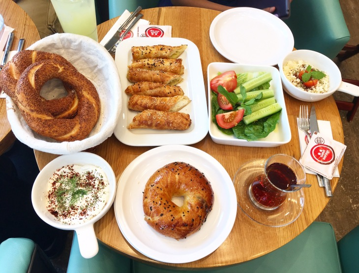 Turkish breakfast in Dubai