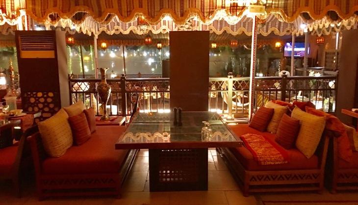 Majlis style seating area