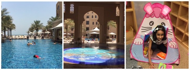 Swimming pool in Sheraton Sharjah