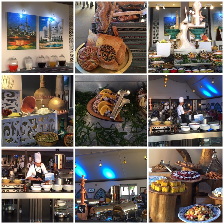 Iftar buffet in fairmont Ajman