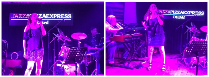 Jazz music at Pizza Express