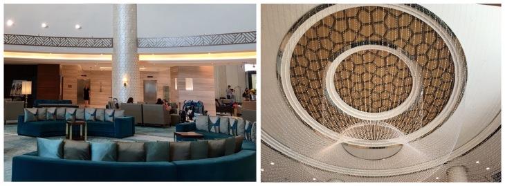 Lobby of Fairmont Ajman