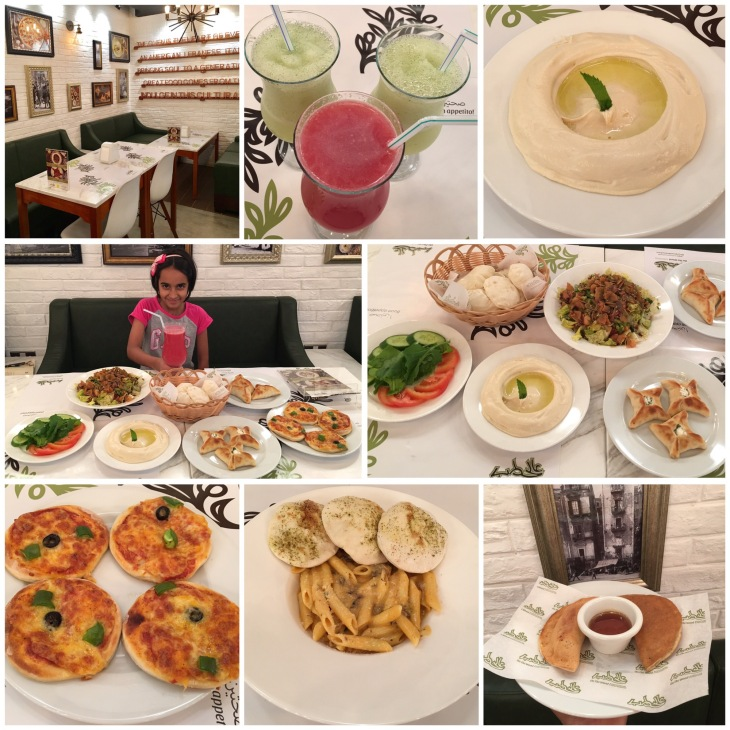 Lebanese restaurants in Jumeirah