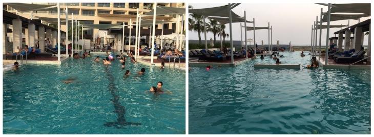 Swimming pool at Crowne Plaza Yas Island