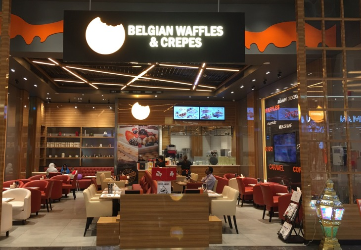 Belgian Waffles in Dubai