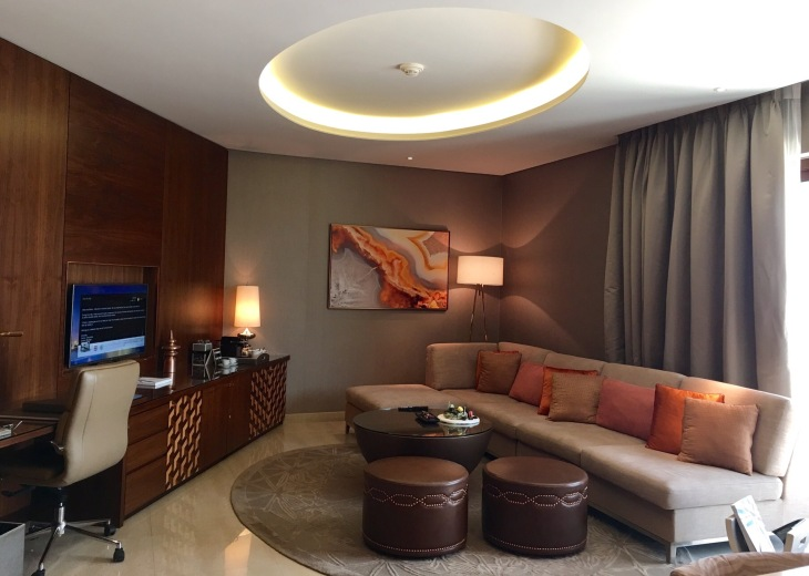 One bedroom suite in fairmont Ajman