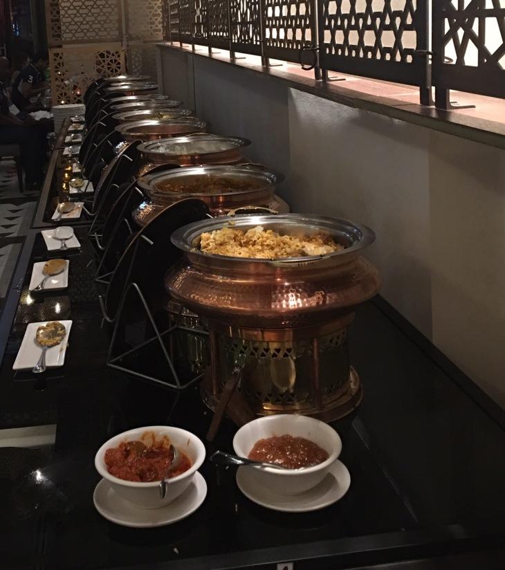 Iftar spread
