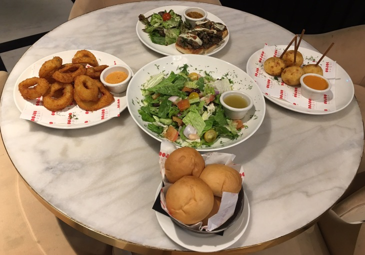 American cuisine in City Walk Dubai