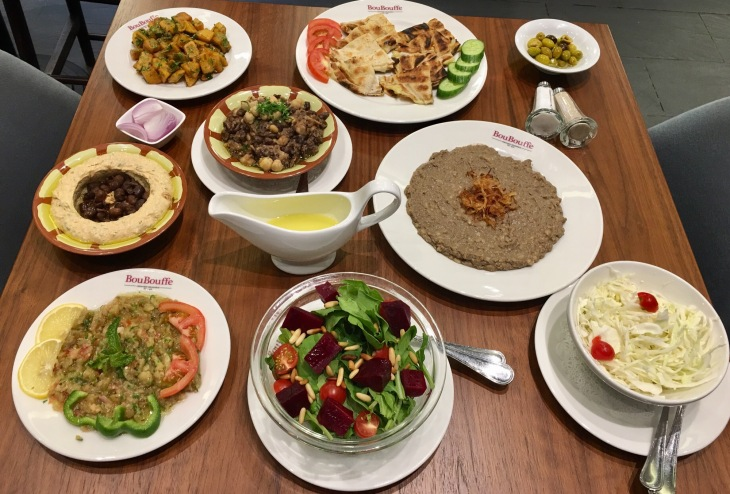 Lebanese restaurants in Dubai