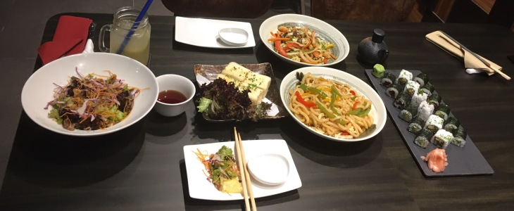 Asian food in Business Bay Dubai